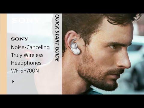 abc4bae03ab Setup Guide   Sony SP-700N Sports Headphones - YouTube