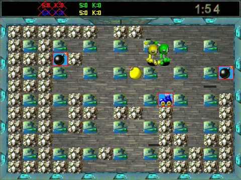Скачать Игру Atomic Bomberman
