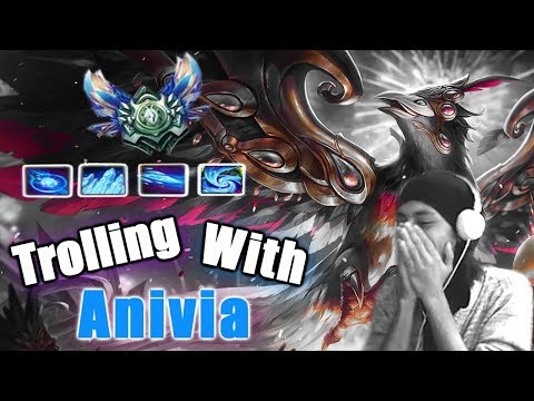How to role Anivia | 1,000AP | (League of Legends)