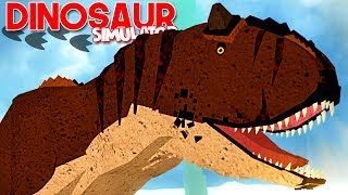 "Dinosaur realism Simulator-hunting babies dinosaurs, Carnotaurus! | ""Roblox"" (#57) (EN-BR)"