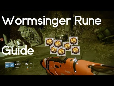 Destiny | Brah -YOU- Got This | How to get Wormsinger Runes