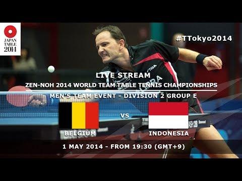 #TTokyo2014: Belgium - Indonesia