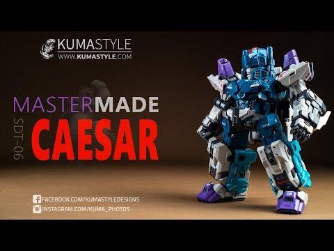Master Made Robot SDT-06 Caesar Bust Set of 2 New