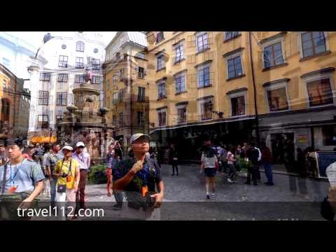 Stockholm ,Sweden  Walking travel tour : Old Town, Gamla Stan (Ultra 4K ) 2016 - travel112.com