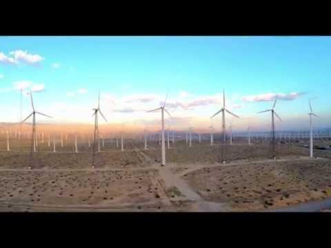 Palm Springs Windmills (Drone)