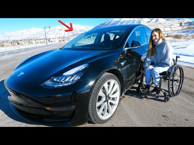 Can a Disabled Person Drive a Tesla?