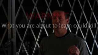 (HD) HOW TO KILL WITH YOUR HANDS Self Defense DVD Set...to survive a violent attack (Disc 1 of 2)