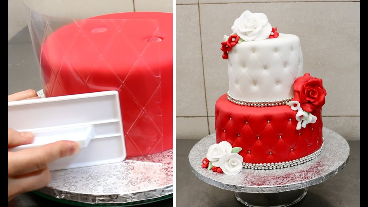Quilted Cake Decorating Idea Decorar Con Fondant By Cakes