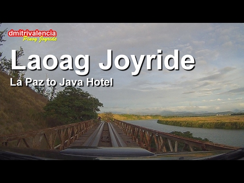 Pinoy Joyride - La Paz to Java Hotel Laoag Joyride