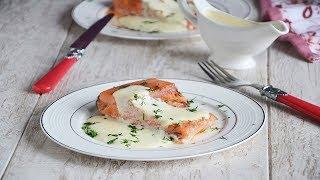 Красная рыба в сливочном соусе 🍛 красная рыба вкусно #1000menu