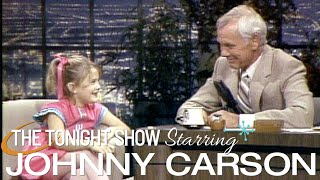 Drew Barrymore's Classic First Appearance | Carson Tonight Show