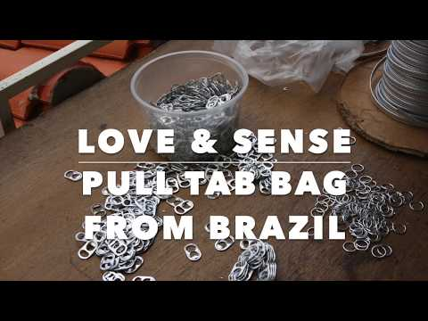 Fairtrade Pull Tab Bag from Brazil