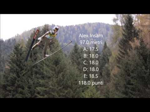 Predazzo - campionati italiani di salto con gli sci 2016