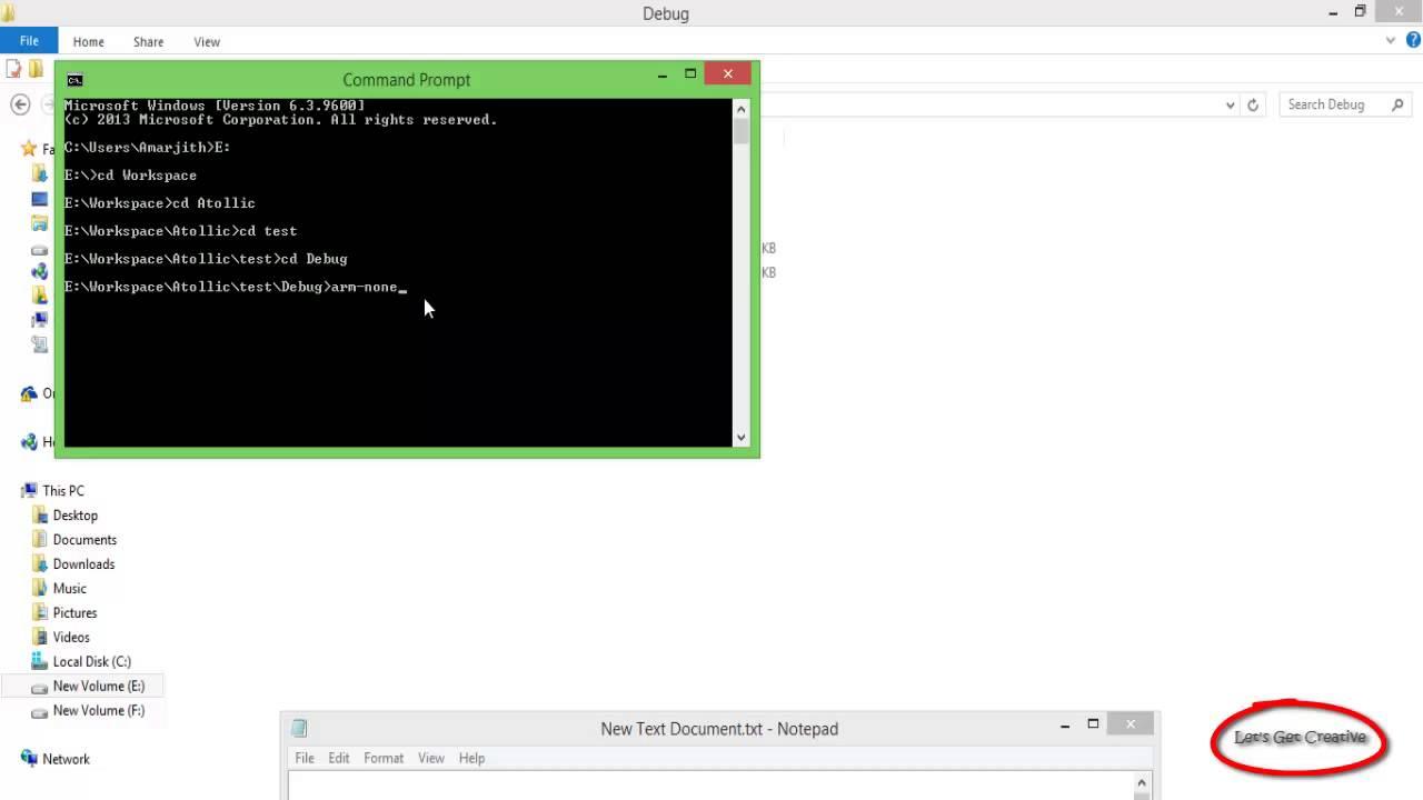 create bin file