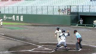 2017年 高校野球鹿児島大会 加治木高校対樟南高校の試合