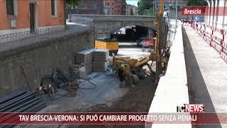 Tav Brescia-Verona: si può cambiare progetto senza penali