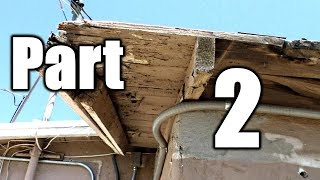 Replacing Soffit And Fascia On Huge House # 2| THE HANDYMAN |