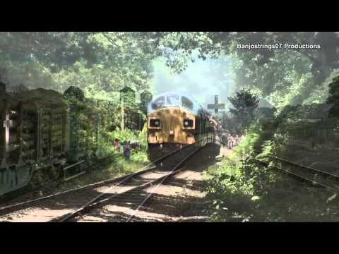 British Diesel Locomotive Thrash 2015