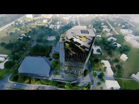 Proposal for the Bank of Ghana office in Accra