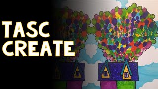 CREATE: Up House & Pointillism (4/23)