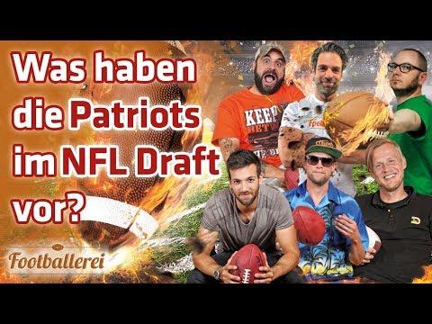 Was haben die Patriots im NFL Draft vor?   Footballerei