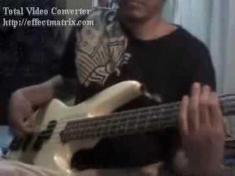 Pas Band - Sesaat ( Bass Cover)