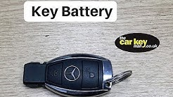 Key Battery Mercedes A Class HOW TO change