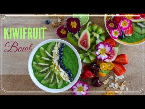 Green Goddess Kiwifruit Bowl
