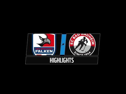 DEL2 Highlights 15. Spieltag | Heilbronner Falken vs. EC Bad Nauheim