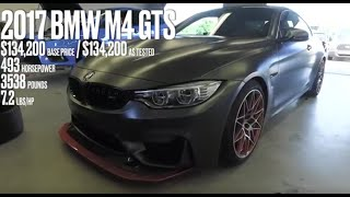 BMW M4 GTS at Lightning Lap 2016