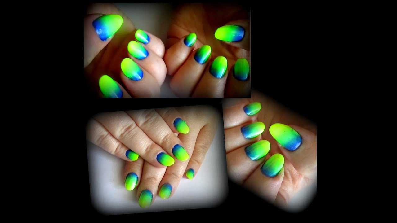 43 Neon Nail Designs That Are Perfect for Summer | Page 4 ... |Neon Blue Nails