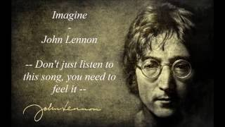Video Imagine - John Lennon - Lyrics download MP3, 3GP, MP4, WEBM, AVI, FLV Agustus 2018