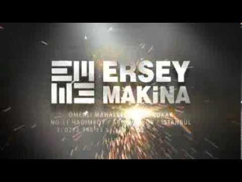 Ersey Makina CE Belgeleri