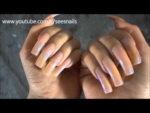 Showing My Long Natural Nails
