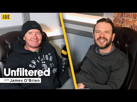 Irvine Welsh  on Trainspotting, heroin and tennis  Unfiltered with James O'Brien 25
