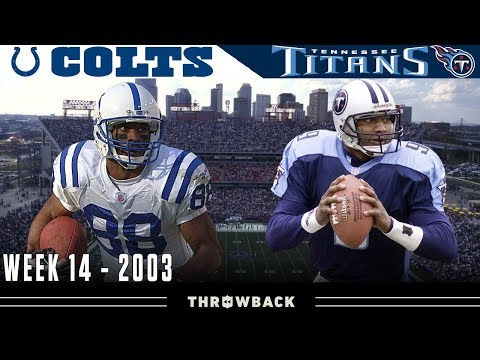 1st Place at Stake in Nashville! (Colts vs. Titans, 2003)