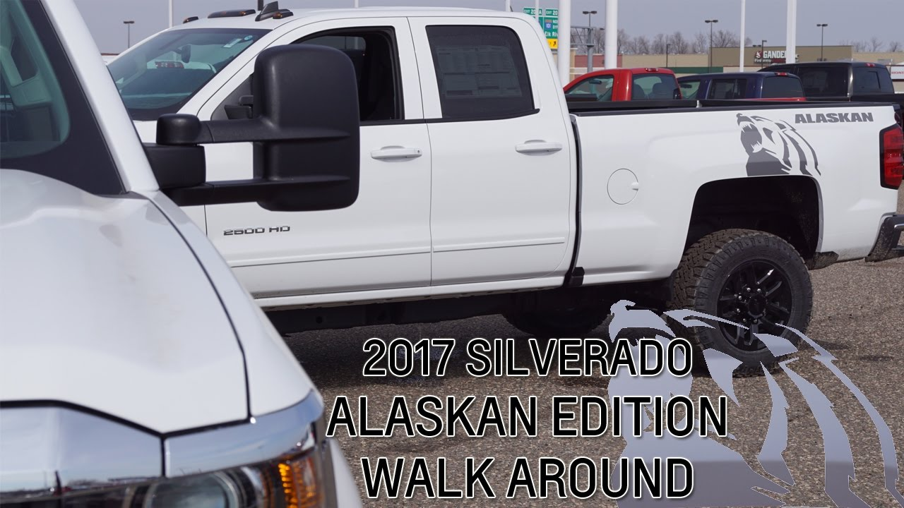 2017 SILVERADO ALASKAN EDITION WALK AROUND - YouTube
