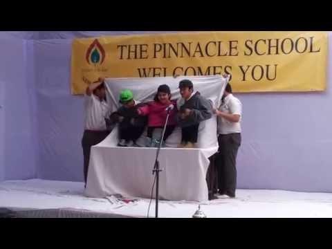 Puppet show Class 12 The Pinnacle School