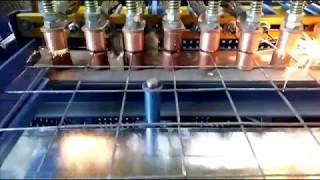 СТАНОК МНОГОКОНТАКТНОЙ СВАРКИ Ш-1200 Механизмом фиксации ячейки Semi-automatic welding machine,