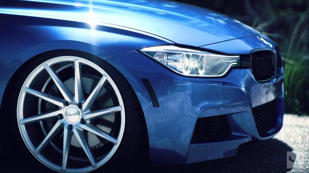 Bmw 335i Vossen Cvt Directional Wheels Rims Youtube