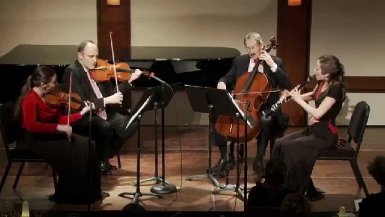 Crusell: Quartet in E flat major for Clarinet, Violin, Viola, and Cello, Op. 2
