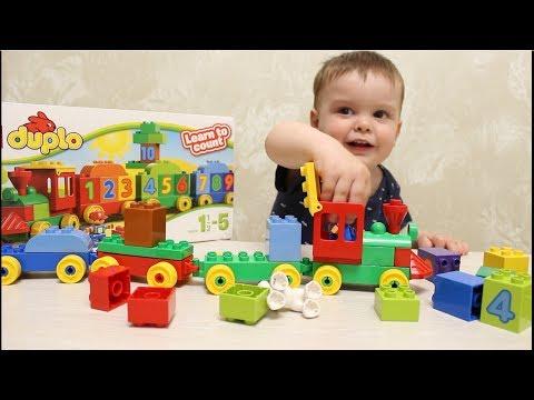 Lego duplo - любимый конструктор моего сына