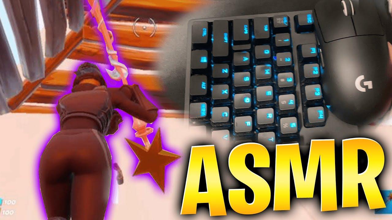 【ASMR】プロのキーボード打鍵音🤩【音強め/フォートナイトFORTNITE】睡眠用