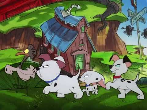 101 Dalmatians The Series Dog Chicken Team
