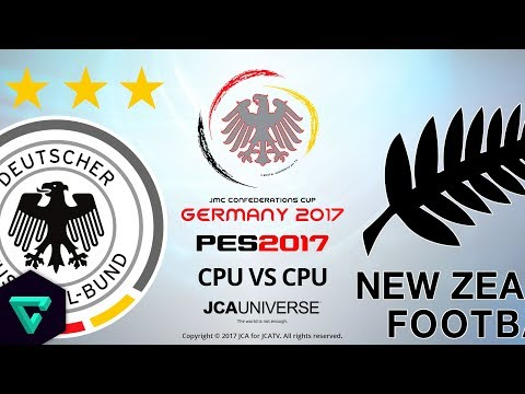 Germany vs. New Zealand | The Final is Here! | 2017 jmc Confederations Cup Germany | PES 2017