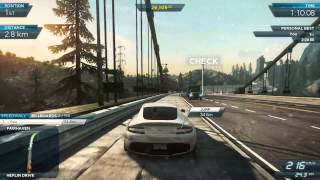 Need for Speed Most Wanted 2012 Gameplay Part 1 (PC) - Full HD 1080p High Settings GT 650M Asus N76