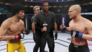 Bruce Lee vs. Cub Swanson (EA Sports UFC 2) - CPU vs. CPU