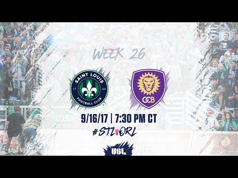 USL LIVE - Saint Louis FC vs Orlando City B 9/16/17
