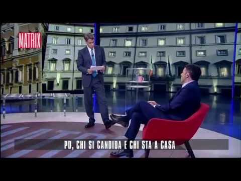 Matteo Renzi a Matrix