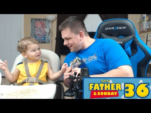Pokemon Cards - Opening Pokemon Pack with Lukas! | Father & Sonday #36